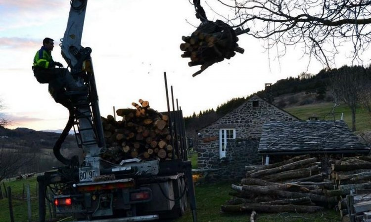Héritier Ambert - Transport et livraison de bois